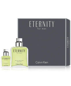 Eternity 2 Piece Gift Set by Calvin Klein for Men
