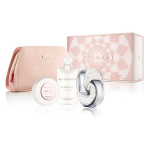Bvlgari Omnia Crystalline 4 Piece Gift Set by Bvlgari for Women