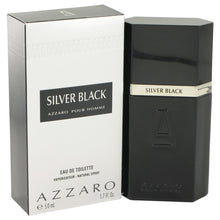 Load image into Gallery viewer, Silver Black by Azzaro for Men