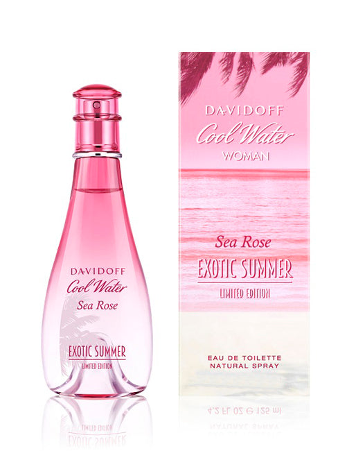 Cool Water Sea Rose Exotic Summer Limited Edition by Davidoff for Women