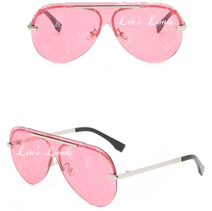 'L.V' Pink Sunglasses