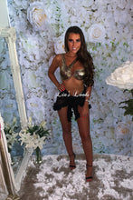 Load image into Gallery viewer, Gold Ring Metallic Bikini