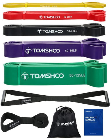 élastique musculation fitness tomshoo amazon