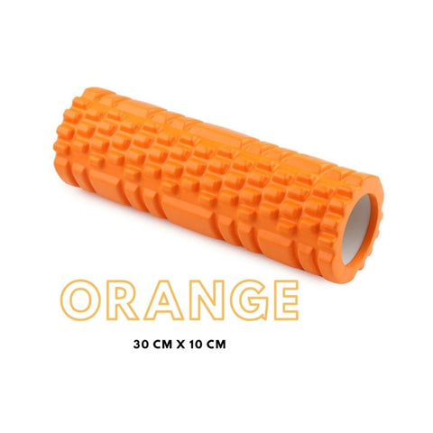 orange-rouleau-massage-foam-roller-black-roll-trigger-point-physiotherapie-recuperation-musculaire-fitness-noeuds-douleur-dos-jambes-bras-pilates