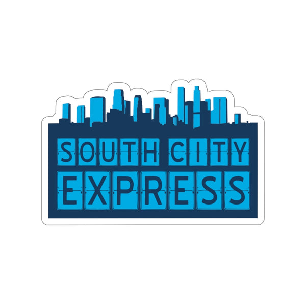 South City Express - Kiss-Cut Stickers