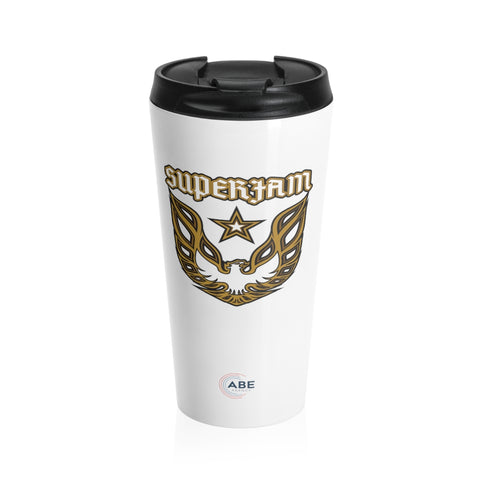 Superjam - Stainless Steel Travel Mug