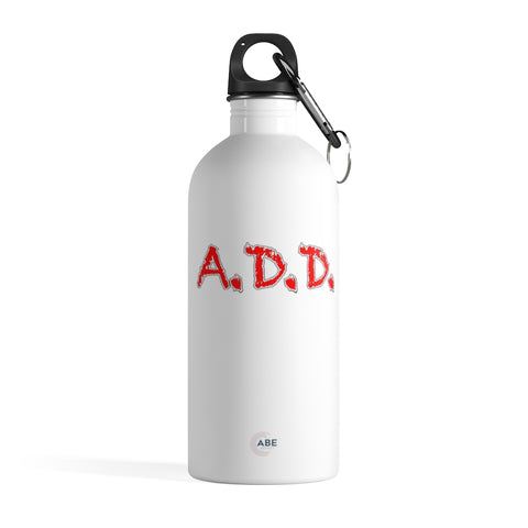A.D.D. - Stainless Steel Water Bottle