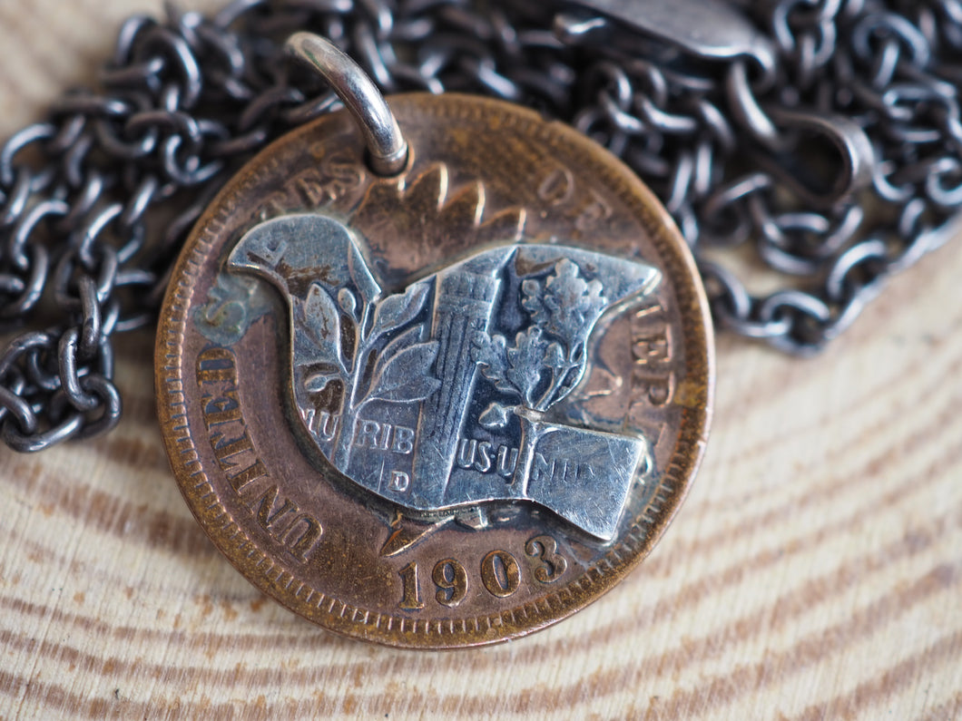 North Works 1 cent necklace