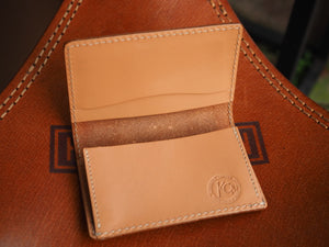 KC's leather 雕花 Card case