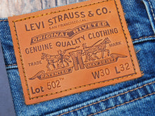 Load image into Gallery viewer, Levi's 502赤耳牛仔褲