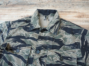 Pike brothers 1966 jungle tiger stripe shirt