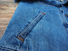 Load image into Gallery viewer, Levi's orange tab denim jacket