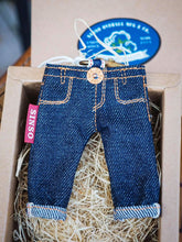 Load image into Gallery viewer, Sinso Denim Mini Jeans Key Holder