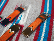 Load image into Gallery viewer, the.retro.Macan design watch strap - The pocket(牛皮+馬臀皮)