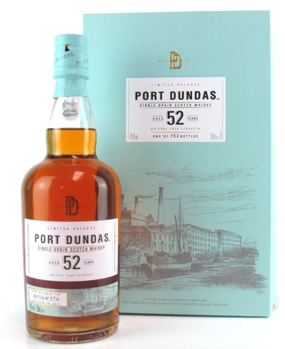 Limited Release Port Dundas aged 52 Years one of 752 bottles, 700ml