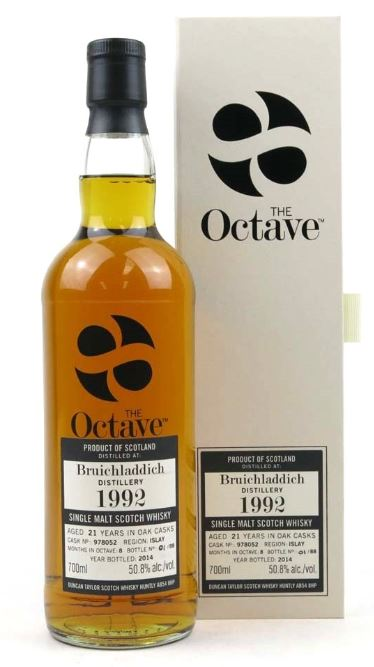 The Octave Bruichladdich Single Malt 21 years old, 700ml