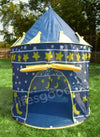 PORTABLE BLUE PLAY TENT