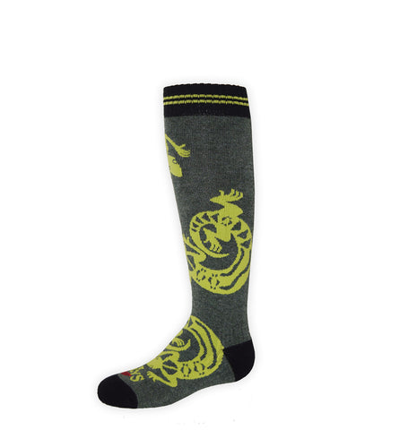 Hot Chillys Youth Geckos Mid Volume Sock 2017