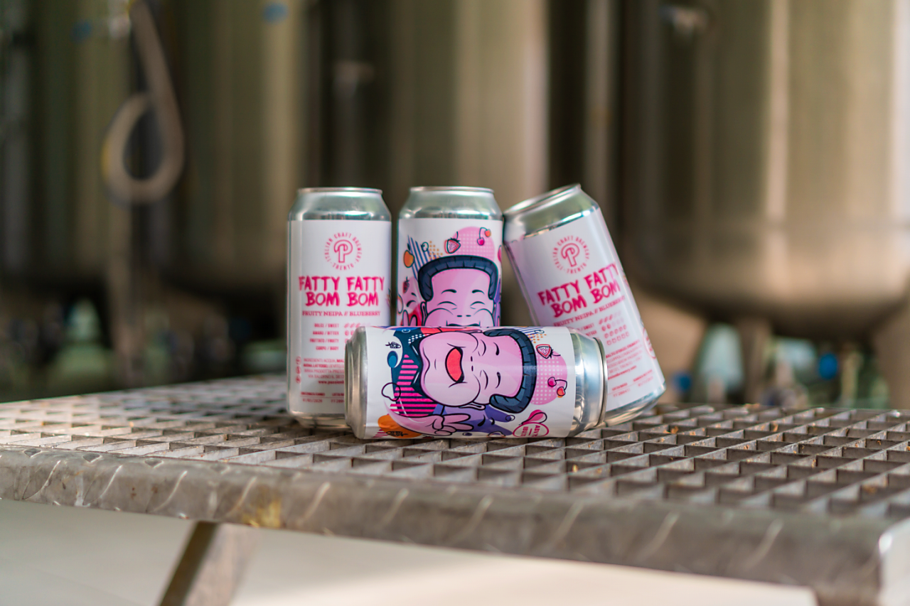 Fatty Fatty Bom Bom - Mirtillo | Fruity NEIPA 7%