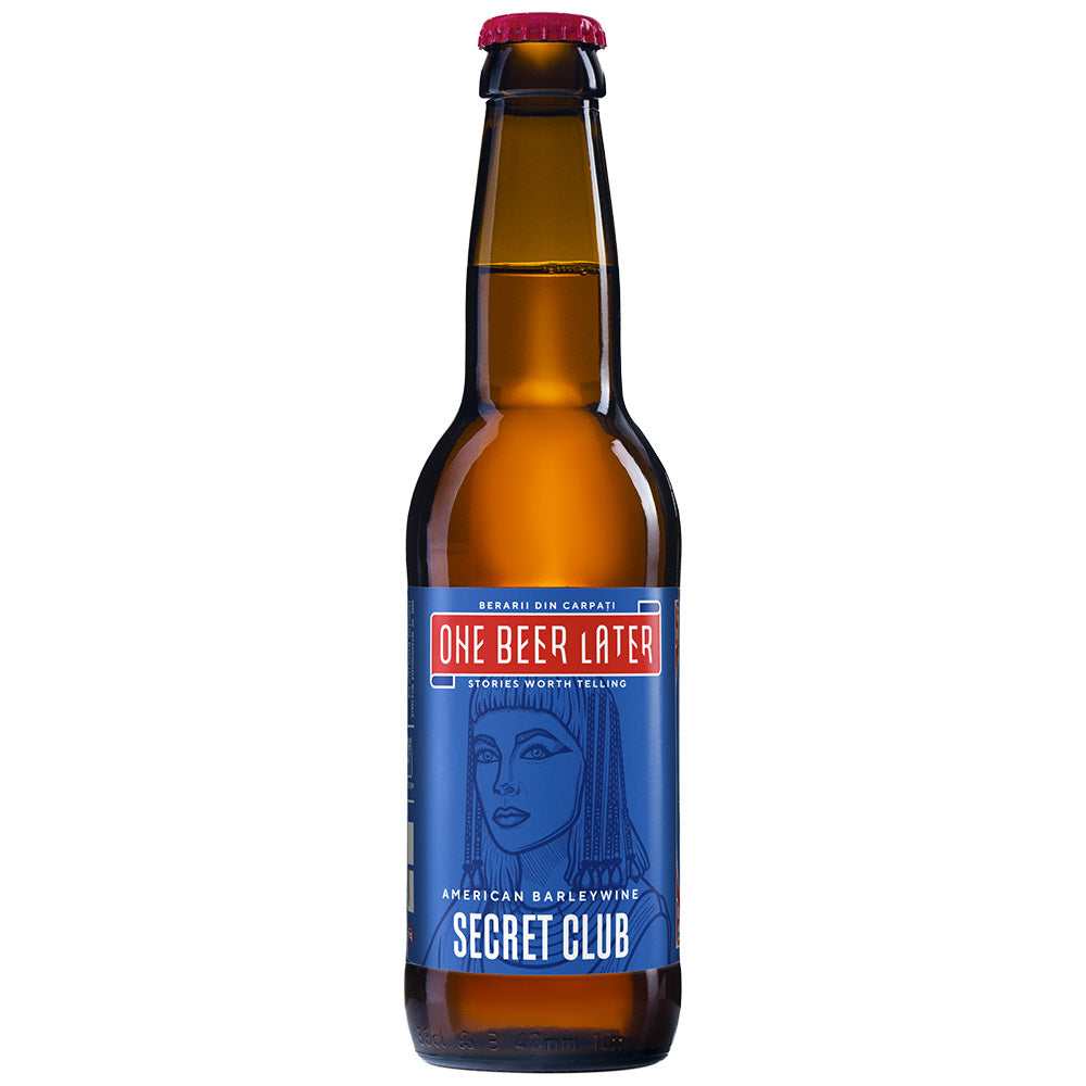 Secret Club - Barrel aged Barley Wine - Rum barrel (9,5 %)