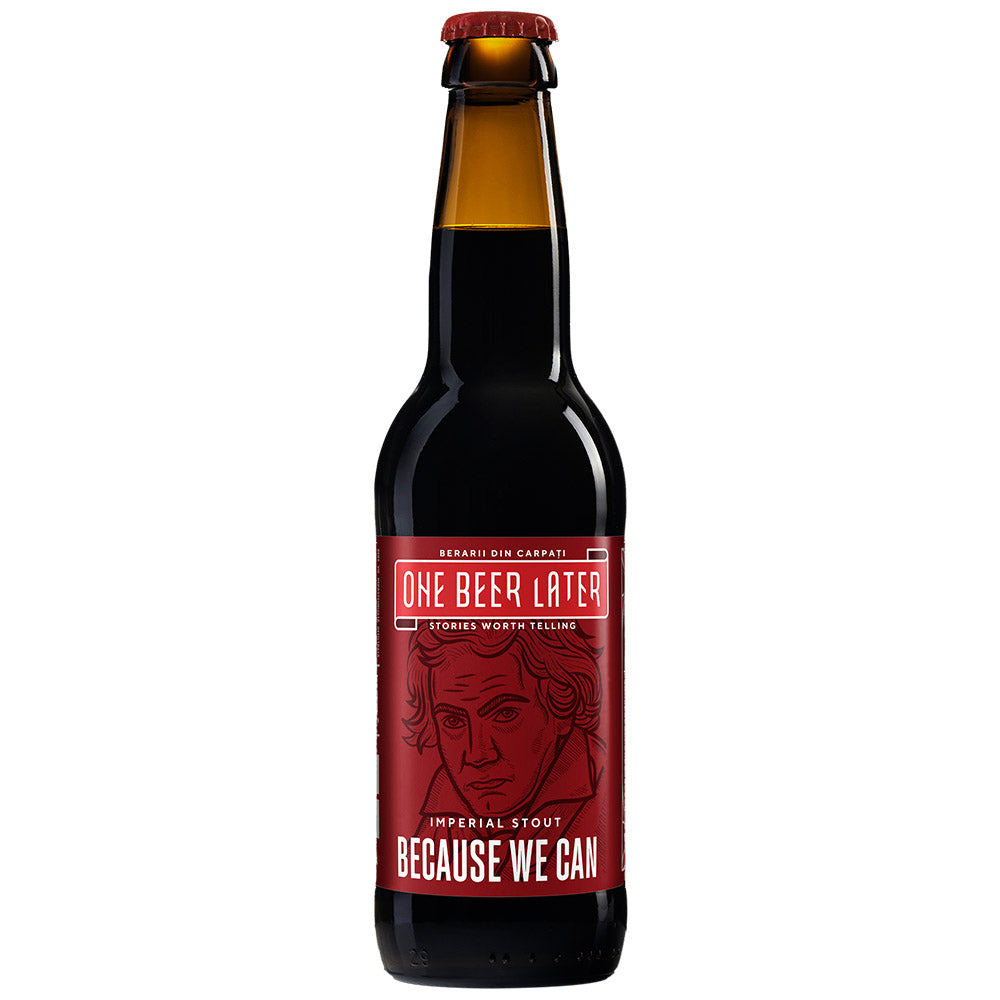 Because We Can - Barrel aged Imperial Stout - Scotch barrel (9,5 %)