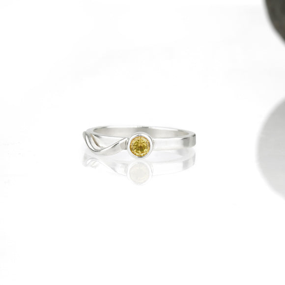 Cascade Ring with Citrine
