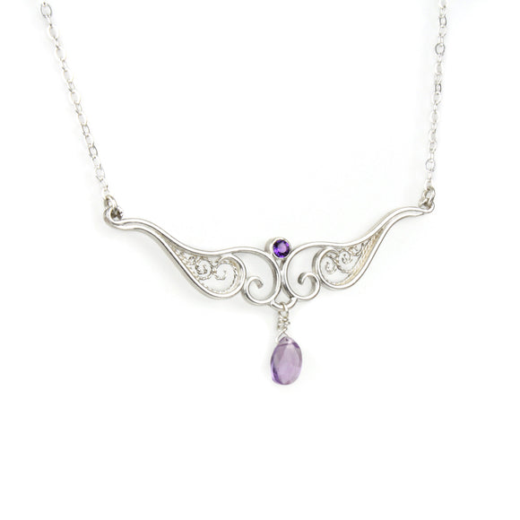 Victoria Necklace - Amethyst