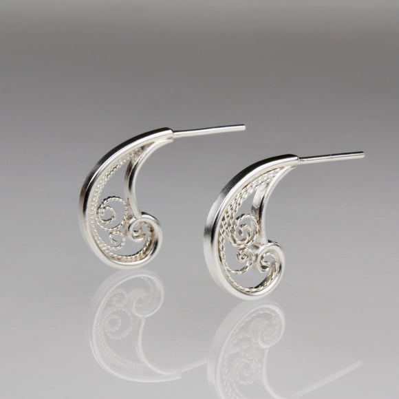 Zephyr Wisp Stud Earrings