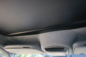 Sprinter® Van L-track on cab shelf by Shuksan Upfitting