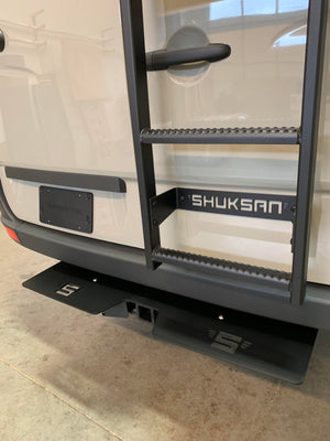 Shuksan Rear Hitch Step for Mercedes Sprinter
