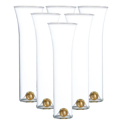 Golden Globe Champagne Glass