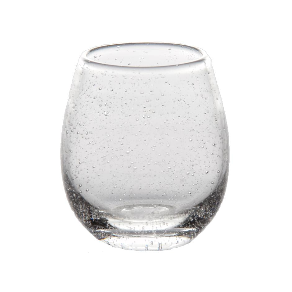 Bubble Stemless Wine Glass