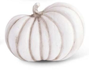 White Resin Pumpkin I