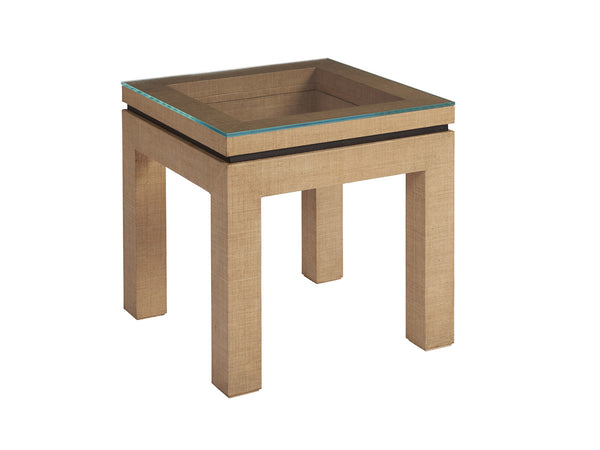 Harbor Raffia End Table