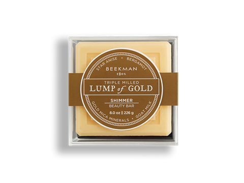 Beekman 1802 Lump of Gold Soap