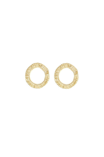 Sylvia Benson Hedge Hoop Earring