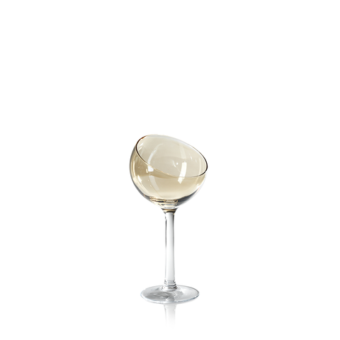 Ball Glass - Gold Luster