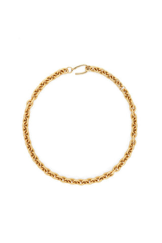"Sylvia Benson 18"" Rope Link Chain Necklace"