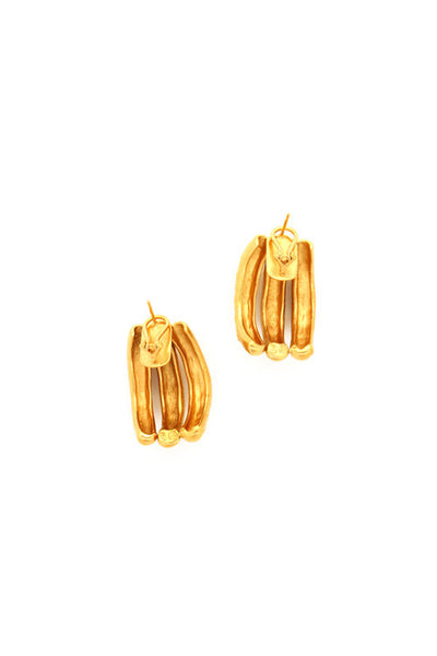 Sylvia Benson MOLW Script Earrings