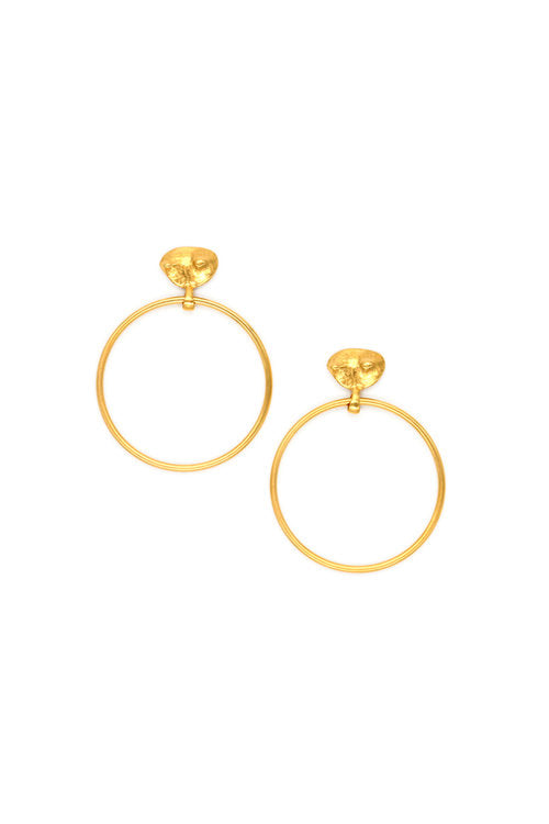 Sylvia Benson Standard Doorknocker Earrings