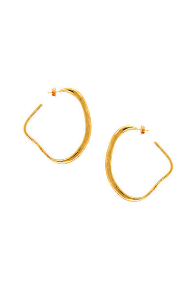 Sylvia Benson Imperial Hoop Earrings