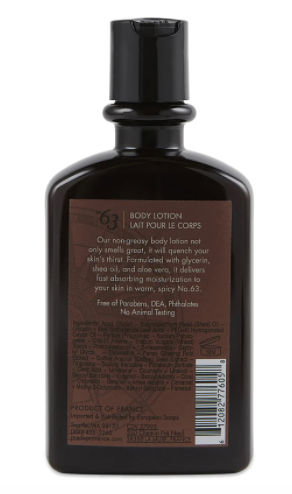 Men's No. 63 Body Lotion