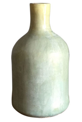 Weathered Blue Glaze Vase Small