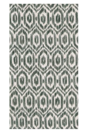Amala Ikat Paper Guest Towels in Black