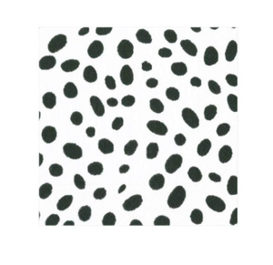 Black Spots Cocktail Napkins