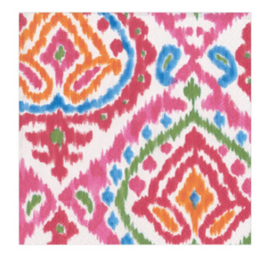 Java Ikat Cocktail Napkins