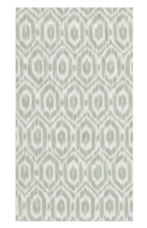 Amala Ikat Grey Guest Towels