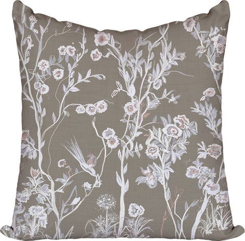 Cherry Blossom Cafe Pillow