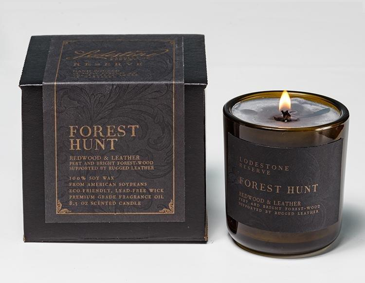 Forest Hunt Candle