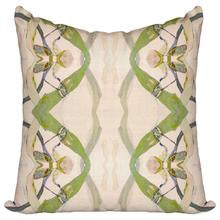 Windy O'Connor Green Moth Pillow